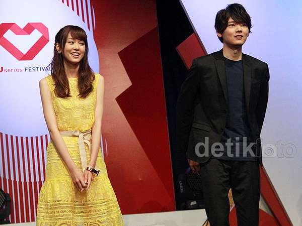 Yuki Furukawa dan Mirei Kiritani Bikin Fans Indonesia Histeris