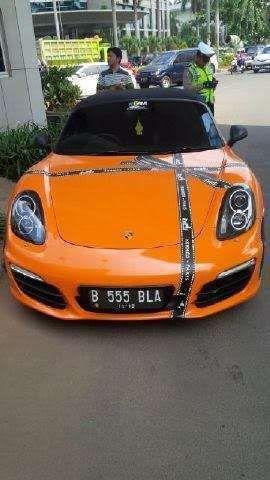 Porsche B 555 BLA Milik Bella Shofie Belum Terdaftar di Kepolisian