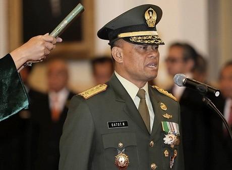 Dicalonkan Jadi Panglima TNI, ini Profil Jenderal Gatot Nurmantyo