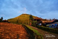 Spot utama dengan latar belakang Gunung Sindoro