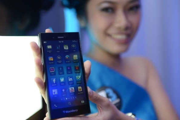 BlackBerry Z3 (gettyimages)