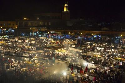 Pasar Kuliner Ramadan Paling Seru Sedunia Ada di Maroko