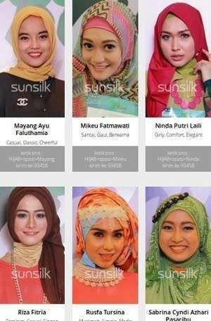Dukungan Keluarga Finalis Pada Malam Final Sunsilk Hijab Hunt