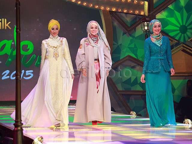 Fatin dan Cakra Khan Meriahkan Sunsilk Hijab Hunt 2015