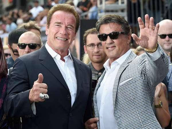 Ada Rambo di Premiere Film 'Terminator Genisys'