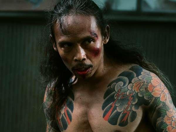 Aksi Sangar Yayan Ruhiyan di Film 'Yakuza Apocalypse'