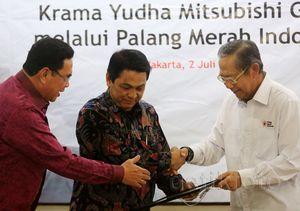 Mitsubishi Bantu Korban Sinabung