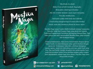 Sastrawan Sufi Candra Malik Rilis Novel Mustika Naga