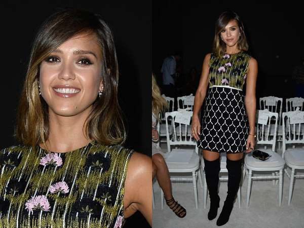 Gaya Jessica Alba di Paris Fashion Week, Yay or Nay?
