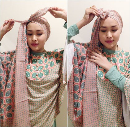 Tutorial Hijab Unik Ala Si Cantik Ninda Juara 2 Sunsilk Hijab Hunt Halaman 4