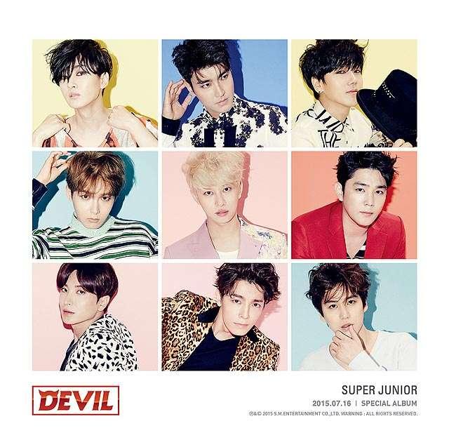 Foto Teaser Penuh Warna Super Junior untuk Album Spesial