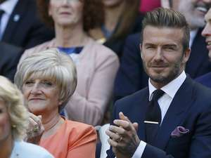Kemesraan David dan Victoria Beckham