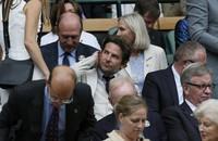 Aktor Bradley Cooper juga tampak dari bangku penonton. REUTERS/Stefan Wermuth/detikFoto.