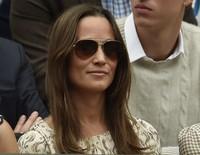 Tentu saja, Pippa Middleton tak pernah ketinggalan. REUTERS/Stefan Wermuth/detikFoto.