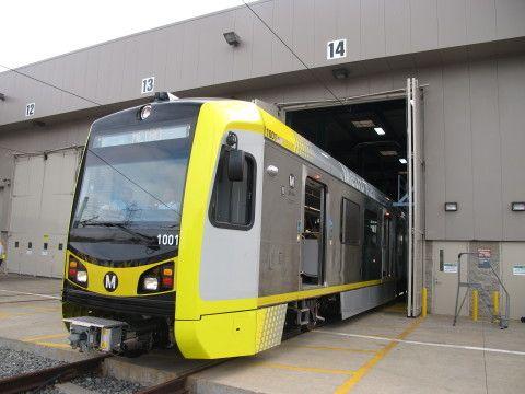 LRT di Los Angeles, AS (Foto: Reuters)