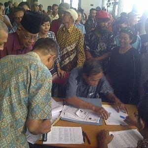 Validasi Berkas Korban Lumpur Lapindo Diharapkan Rampung 31 Juli 2015