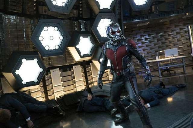 Intip Aksi Anggota Asli The Avengers 'Ant-Man'