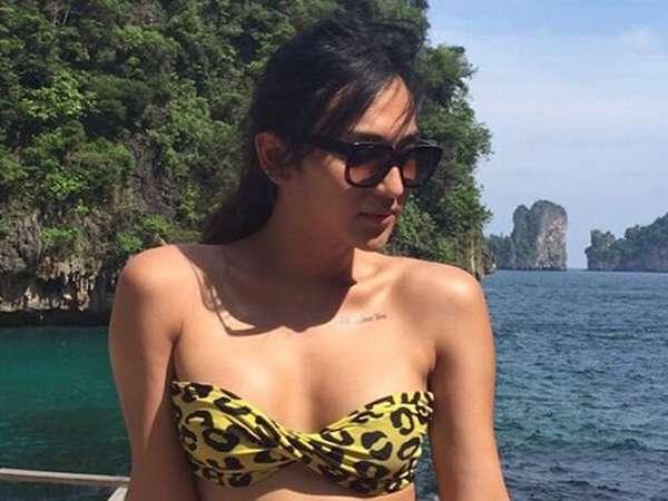 Dena Rachman Berbikini di Thailand