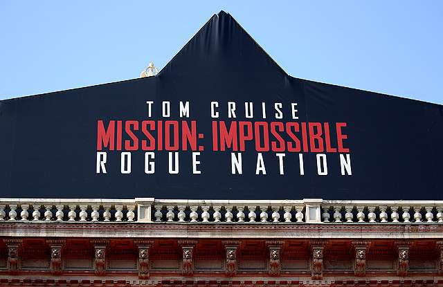 Suasana Pemutaran Perdana Film 'Mission: Impossible - Rogue Nation'