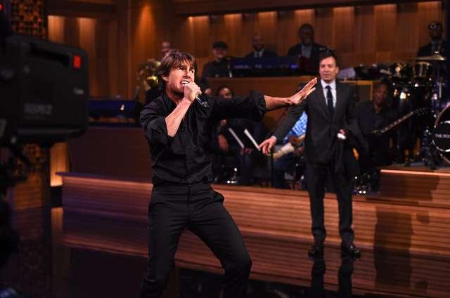 Kocak! Tom Cruise Adu Lip Sync dengan Jimmy Fallon