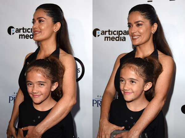 Like Mother Like Daughter, Gaya Kompak Salma Hayek dan Putrinya