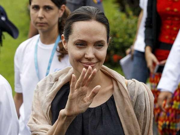 Angelina Jolie Suarakan Hak Asasi Manusia di Myanmar