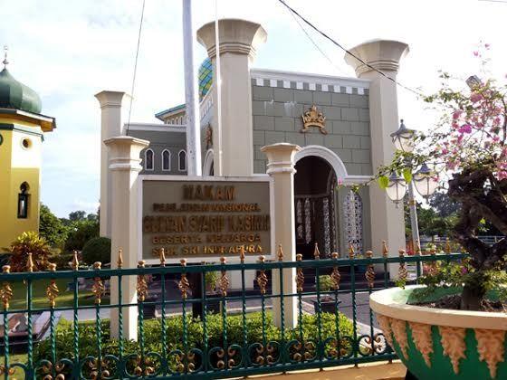 Makam Sultan Syarif Kasim II (Silvia/detikTravel)