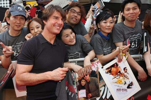 Meriahnya Premiere 'Mission: Impossible Rogue Nation' di Jepang
