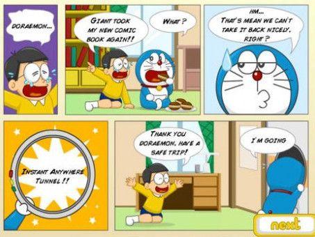 Komik Doraemon Bisa Dinikmati Di Telepon Seluler