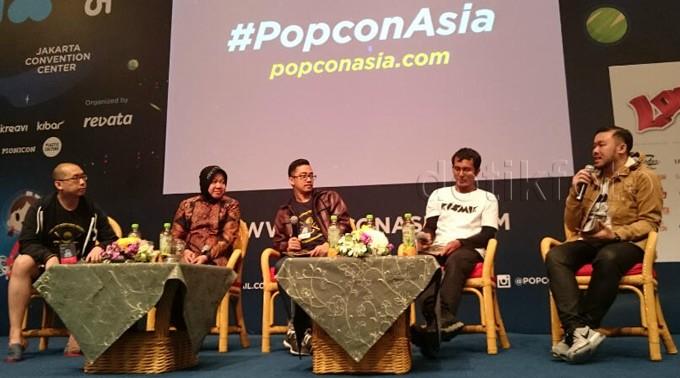 Risma Hadiri Popcon Asia 2015