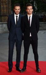 Gaya Necis Liam Payne dan Louis Tomlinson di Acara Amal