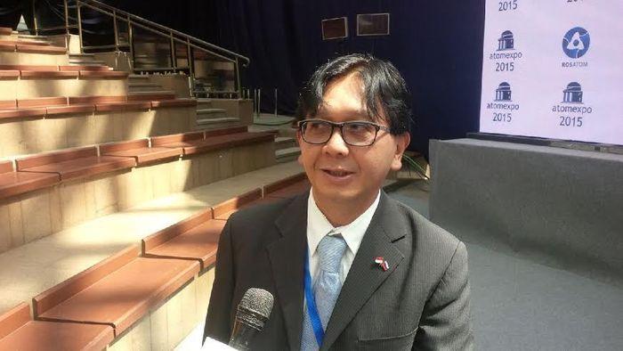 Foto: Kepala BATAN Djarot Sulistio Wisnubroto
