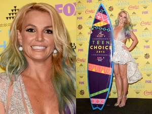 Britney Spears Tampil Sopan di Billboard Awards 2015
