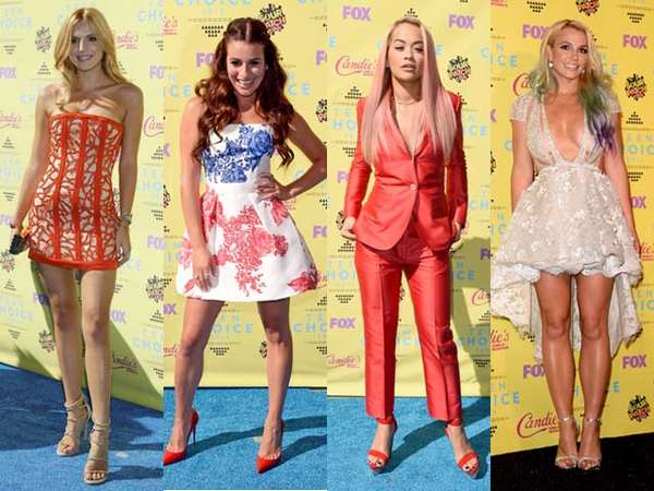 Bella Thorne hingga Britney Spears di Teen Choice Awards 2015