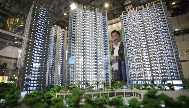 Apartemen yang baru diluncurkan diberi title Acacia tower.