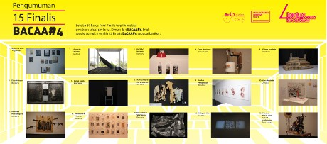 Ini Dia 15 Finalis Bandung Contemporary Art Awards 2015