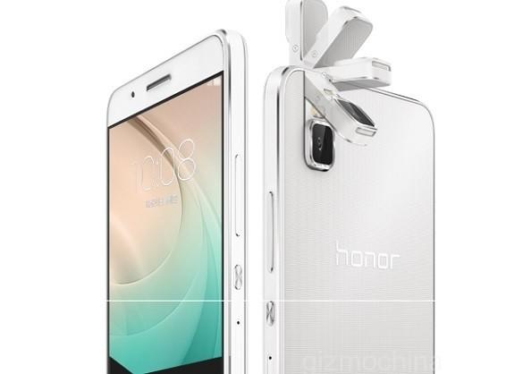 Flip Kamera Ponsel Huawei Bisa Diputar 180 Derajat