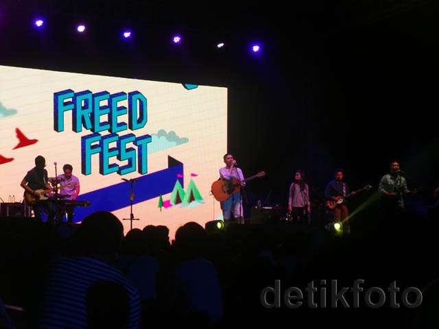 Tulus hingga Maliq & D'Essentials Meriahkan Freedom Fest Hari Pertama