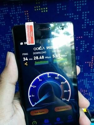 Hasil Speedtest 4G LTE-A Smartfren di Yogyakarta (alif/detikINET)