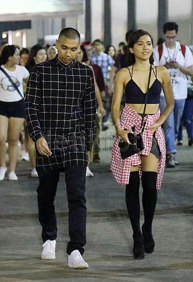 Nonton Bareng Rayi, Lala Karmela Seksi di Konser Ariana Grande