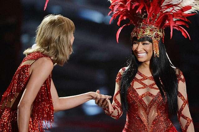 No More Bad Blood! Aksi Duet Nicki Minaj dan Taylor Swift di MTV VMA