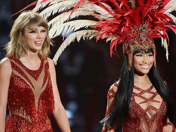 No More Bad Blood! Aksi Duet Nicki Minaj dan Taylor Swift di MTV VMA