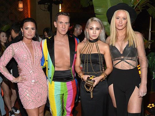 CL Eksis Bareng Demi Lovato dan Iggy Azalea di After Party MTV VMA