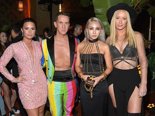 CL Eksis Bareng Demi Lovato dan Iggy Azalea di After Party MTV VMA