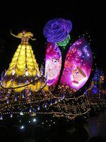 'Ciuman' Selamat Malam di Disneyland