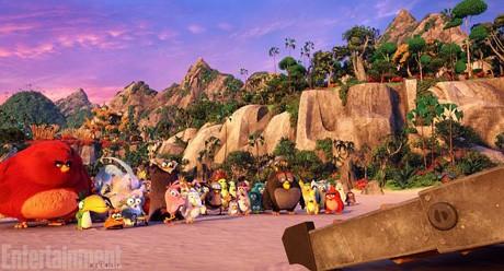 Penampakan Perdana Film Angry Birds
