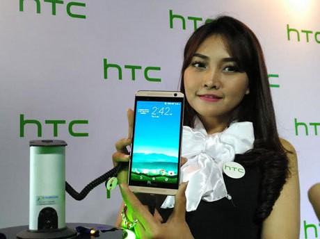 HTC One E9+. (yud/detikINET)
