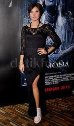Suasana Press Screening Film Horor 'Demona'