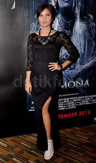 Suasana Press Screening Film Horor 'Demona'