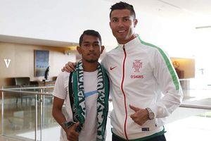 Martunis Dapat Hadiah iPhone 6 dari Ronaldo